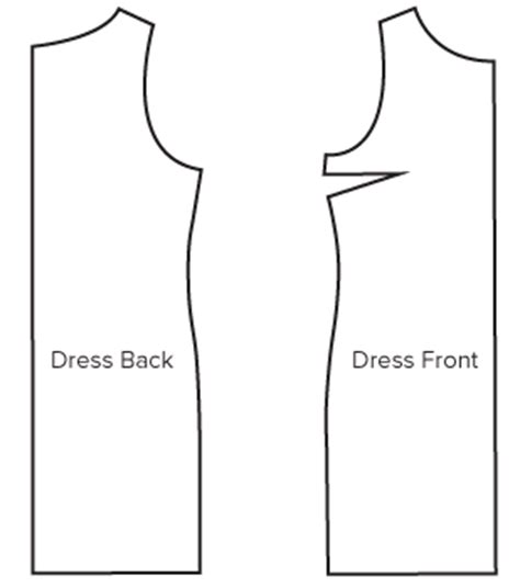 pattern drafting for dressmaking pdf free download classic shift dress pdf sewing pattern by angela kane