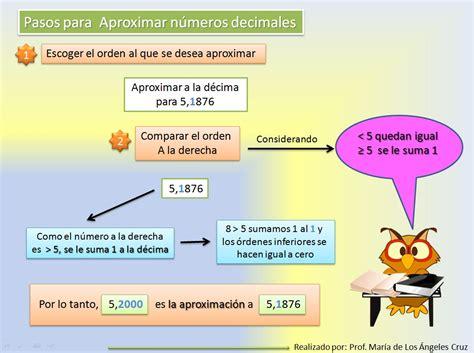 redondear imagenes html aproximaci 243 n y redondeo de n 250 meros naturales y decimales