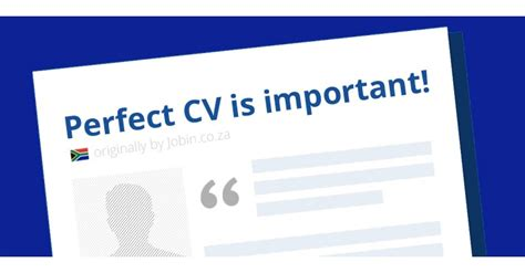 why cv is so important