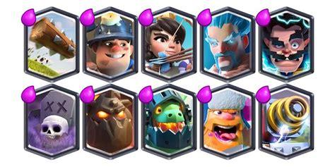 imagenes cool de clash royale estas son las cartas m 225 s utilizadas por los mejores
