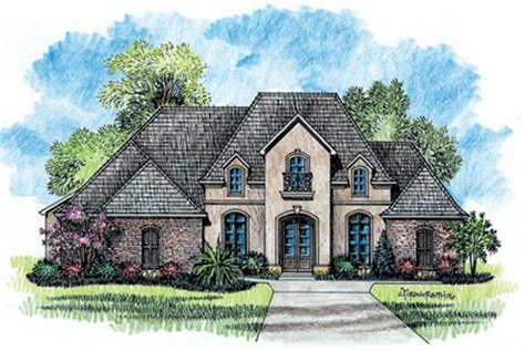 french country home designs 653725 1 story 5 bedroom french country house plan