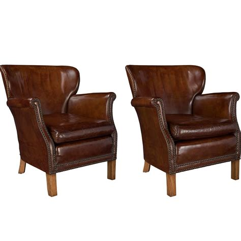 leather armchairs for sale pair of leather armchairs for sale at 1stdibs