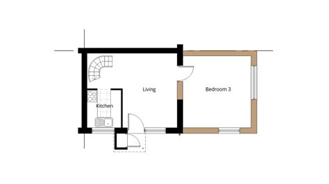 ground floor extension plans house extension drawing plans for swindon project ben williams