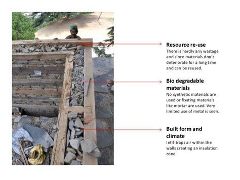 Energy Efficient House kath khuni architecture of himachal pradesh india