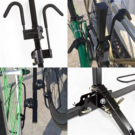 Bike Racks For Suv Without Hitch by Upright Heavy Duty 2 Bike Bicycle Hitch Mount Carrier