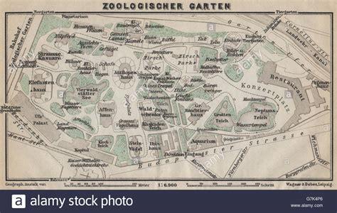 Zoologischer Garten Berlin Plan by Zoologischer Garten Ground Plan Berlin Karte Baedeker