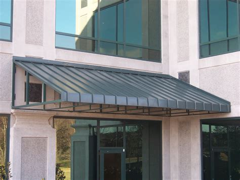 Metal Awning metal commercial awnings for nc