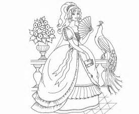 Galerry colouring pages to print barbie