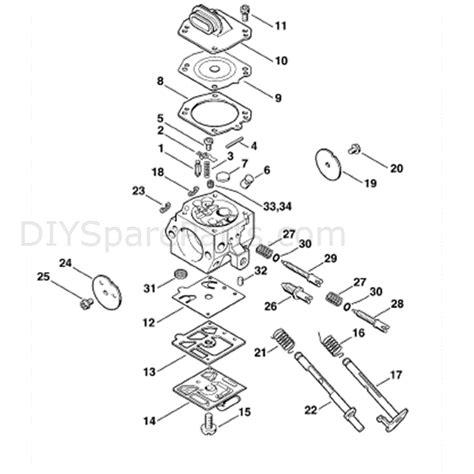stihl ms 390 parts diagram stihl ms 390 chainsaw ms390 parts diagram carburetor hd 19b