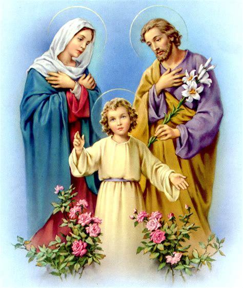 imagenes de la sagrada familia jesus maria y jose apostolado eucar 237 stico novena a la sagrada familia