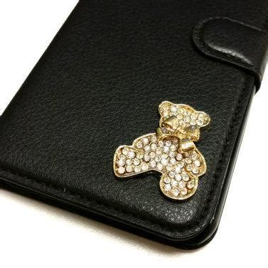 Iphone 6 Plus Luxury Bling Gold Casing Cover Bumper iphone 6 plus luxury leather with bling gold teddy on luulla