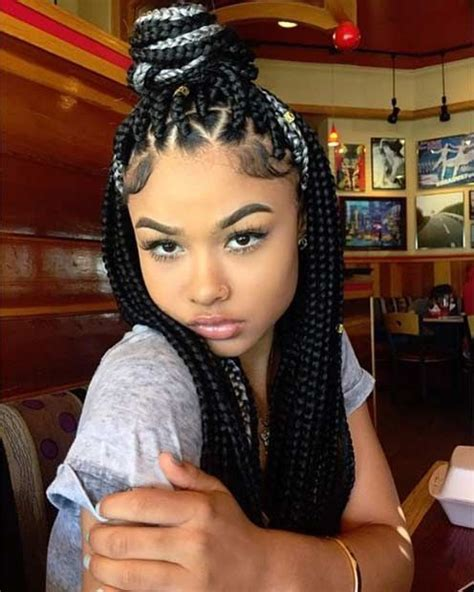 red poetic justice braids 35 gorgeous poetic justice braids styles