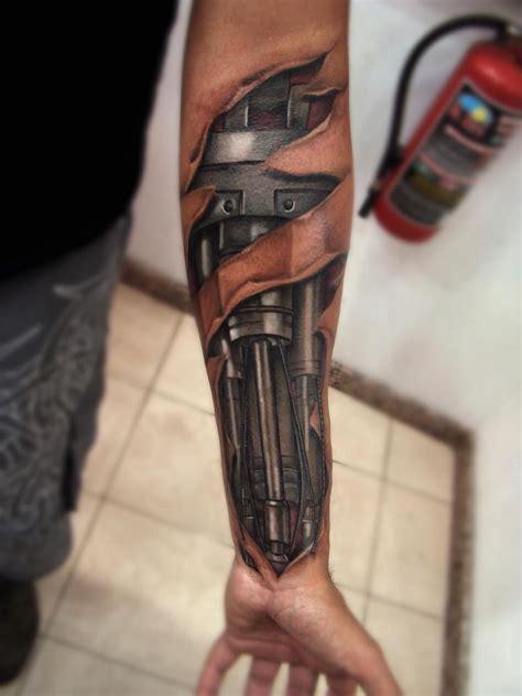 Tattoo Arm Robot | robot arm tattoo thekevinchen
