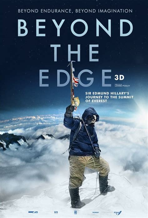 movie poster for the epic of everest flicks movie poster for beyond the edge 3d flicks co nz