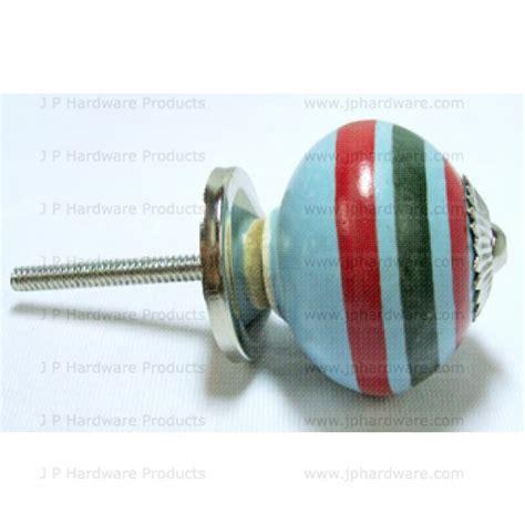 multi colors ceramic knob porcelain cupboard door knobs