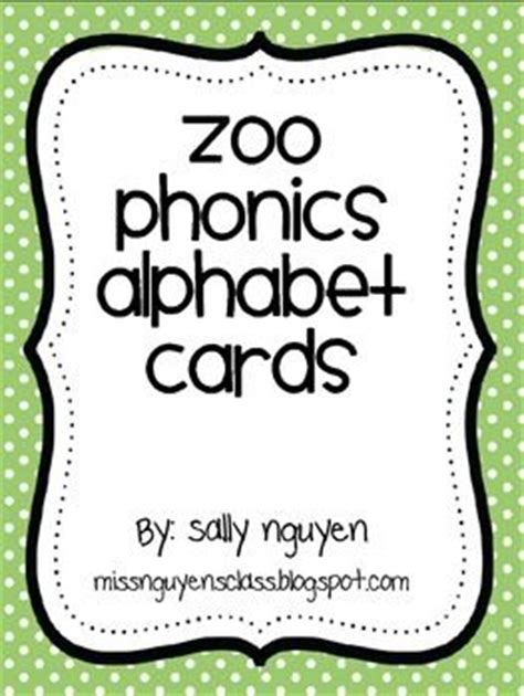 free printable zoo phonics cards zoo phonics alphabet cards