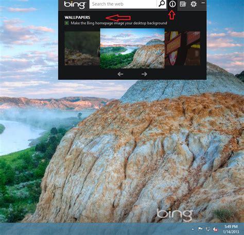 set bing daily image as desktop wallpaper in windows 10 how to set bing homepage image as windows 8 desktop background