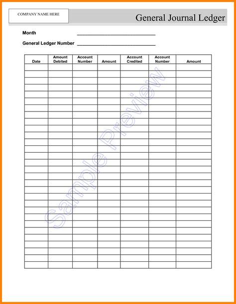 employment ledger template excel ledger review