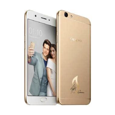 Oppo F1s 3 32gb Gold Series jual handphone smartphone tablet terbaru harga murah
