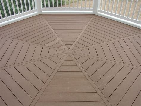 gazebo flooring gazebo floor pattern back deck ideas floor