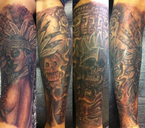 aztec tattoos tumblr aztec on