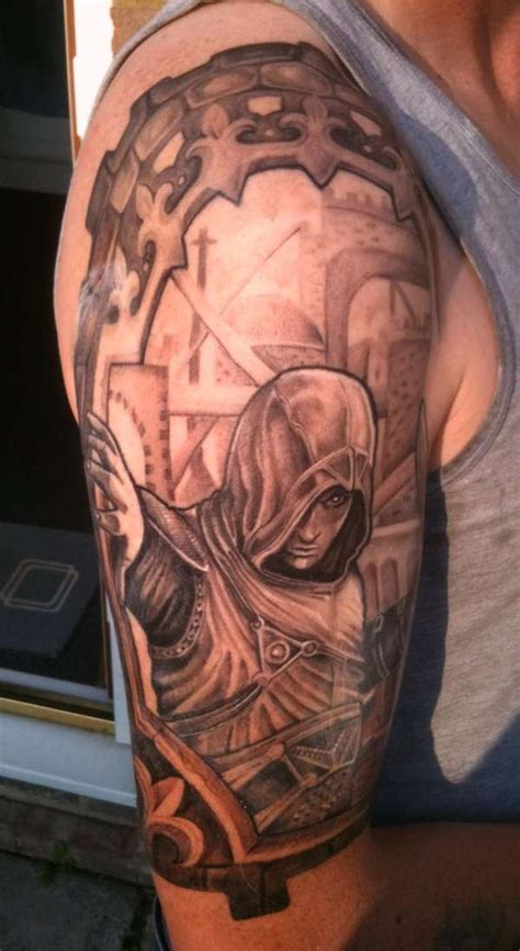 tattoo assassin s creed 4 assassins creed ezio auditore tattoo