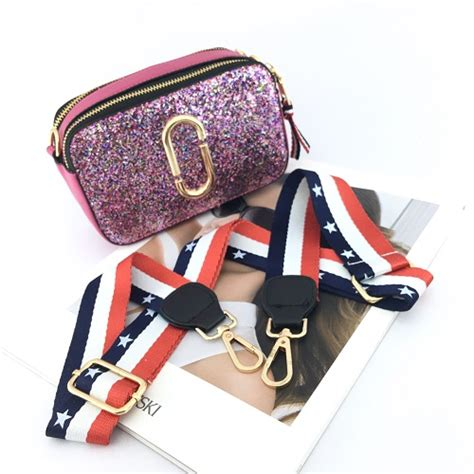 Sale Murah Pouch Cktas Selempang 4sleting Import jual b1128b purple tas selempang sling bag glitter kilat grosirimpor