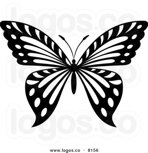 butterfly pattern black and white clipart butterfly black and white cliparts co