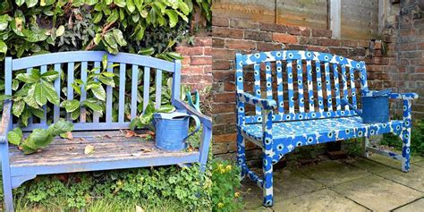 bench painting ideas hometalk backyard ideas s harley s clipboard on hometalk