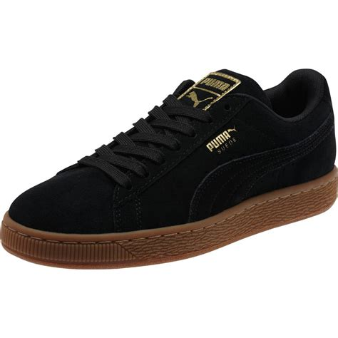 s sneakers suede classic gold women s sneakers