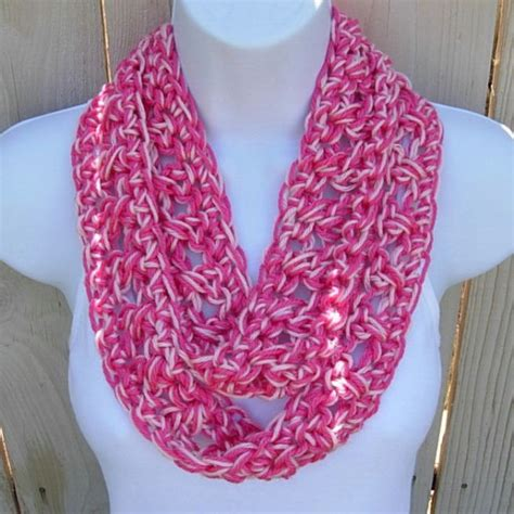 lightweight infinity scarf knitting pattern s soft silky light pink summer infinity scarf