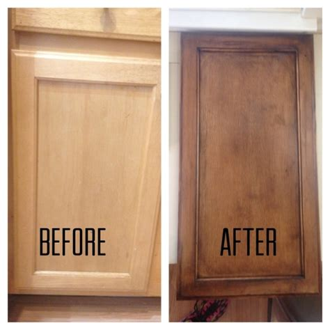 Diy Staining Kitchen Cabinets Cabinet Refinishing Diy Delmaegypt