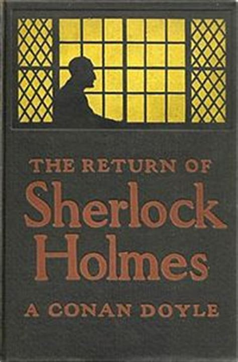 of sherlock books sir arthur conan doyle the return of sherlock
