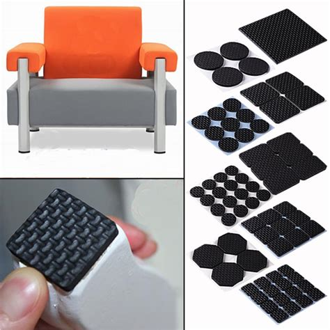 chair floor protector pads adhesive furniture floor protector pads square