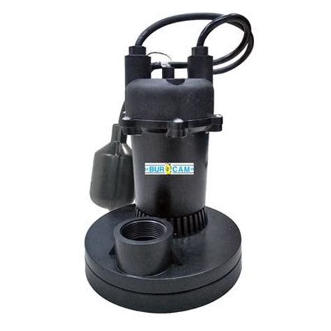 burcam 1 3 hp submersible sump home depot canada