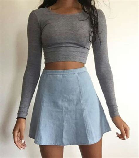 skirt denim skirt denim jean skater skirt skater