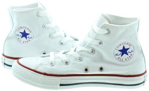 Kaos Converse Original 1 converse canvas all hi boots in white in white