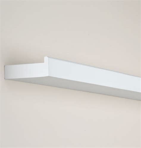White Shelf With Lip by 36 Inch Floating Shelf Floating Shelf Exposures