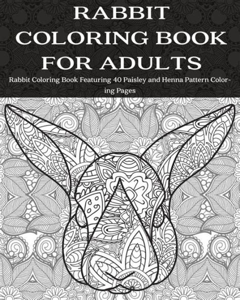 coloring books for adults barnes and noble rabbit coloring book for adults rabbit coloring book