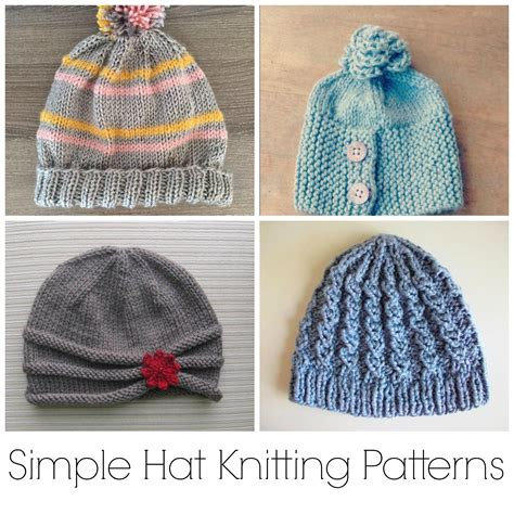 knit cap pattern knitting hat the hat