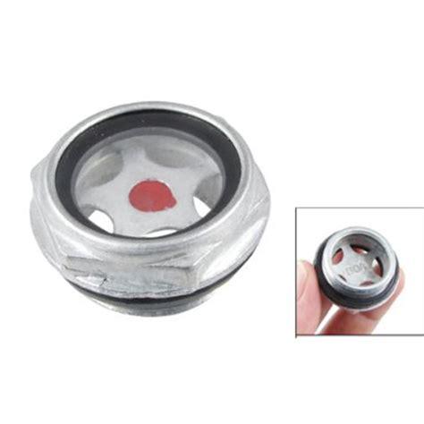 Lv 16 Cp Luck Black White 1 26mm threaded metal air compressor level sight glass 33 x 16mm cp ebay