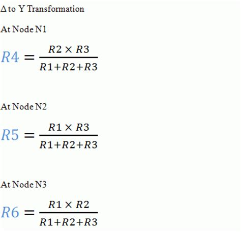 standard resistor value equation standard resistor values formula 28 images delta y transformation calculator yet another