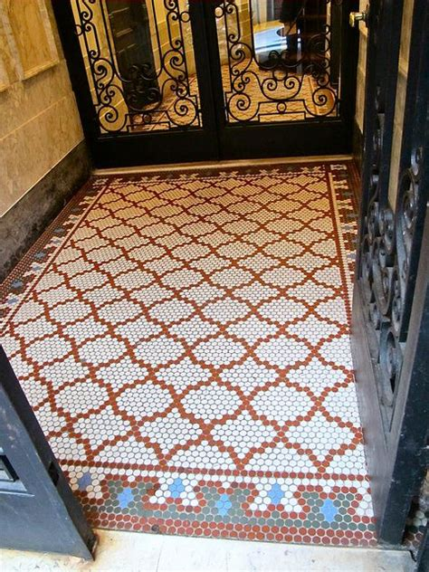 uses of floor tiles beautiful use of hex tile handmade tiles can be colour