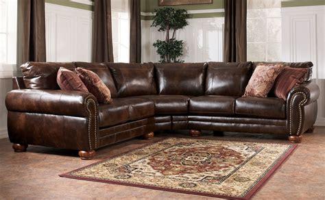 Attractive Sleeper Sofa Chicago #3: Faux-Leather-Sectional-Sofa-Ashley-elegant-design.jpg