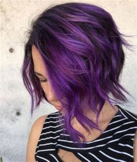 permanent hair color purple 25 best permanent purple hair dye ideas on