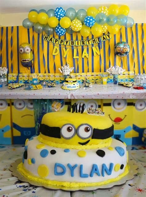 birthday themes minions minions birthday party minions pinterest minion