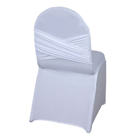 spandex folding chair covers 100 pc spandex banquet chair cover stretchable crisscross