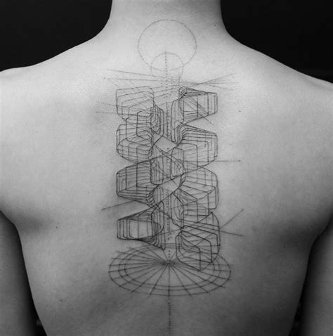 double helix tattoo helix back inkstylemag