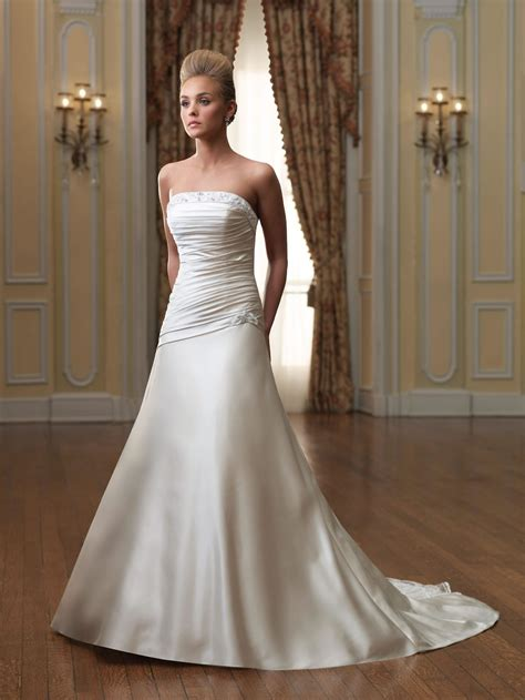 strapless wedding dresses dressed up - Brautkleider Schulterfrei