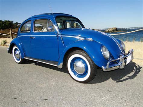blue volkswagen beetle vintage 1960 volkswagen beetle my classic garage